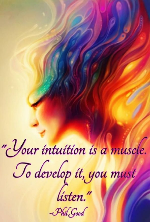 your-intuition-is-a-muscle-phil-good-daily-quotes-sayings-pictures